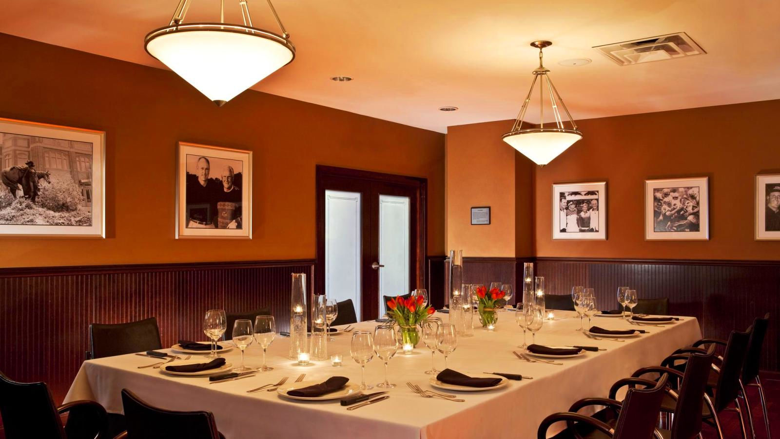 Fort Worth Restaurant - Private Dining